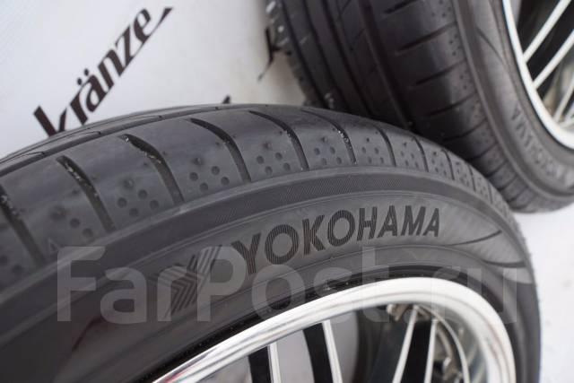 Yokohama BluEarth-A AE-50. Летние, 2015 год, износ: 5%, 4 шт