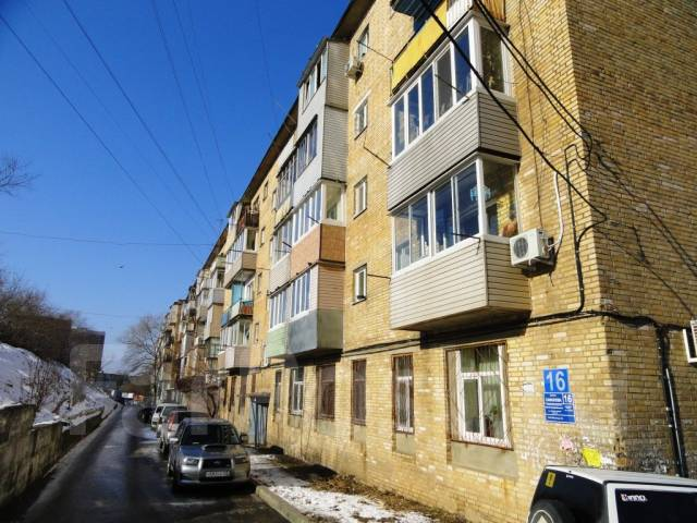 1-комнатная, улица Сафонова 16. Борисенко, агентство, 29 кв.м. Дом снаружи