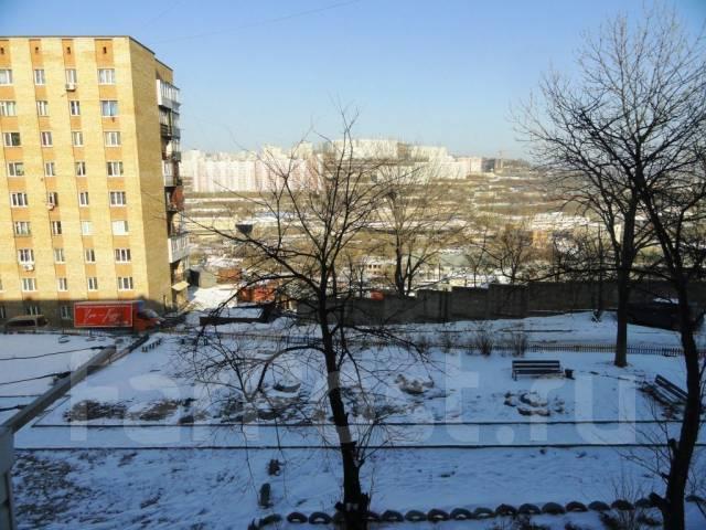1-комнатная, улица Сафонова 16. Борисенко, агентство, 29 кв.м. Вид из окна днём