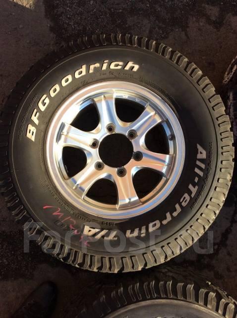 Продам комплект грязевых колес в хорошем состоянии 30x9,5R15. 6.0x15 6x139.70 ET33