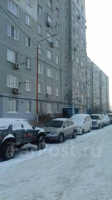 2-комнатная, улица Адмирала Кузнецова 53. 64, 71 микрорайоны, агентство, 56 кв.м. Дом снаружи