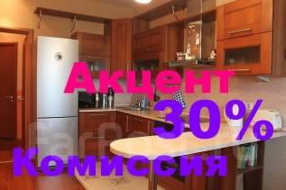 2-комнатная, улица Давыдова 22а. Вторая речка, агентство, 76 кв.м.