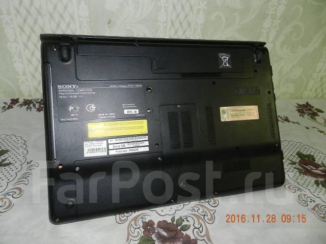 "Sony VAIO PCG-71812V. 15.6"", 2 200,0ГГц, ОЗУ 4096 Мб, диск 500 Гб, WiFi, аккумулятор на 1 ч."