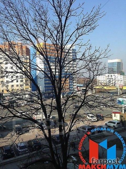 2-комнатная, улица Некрасовская 96. Некрасовская, проверенное агентство, 45 кв.м. Вид из окна днём