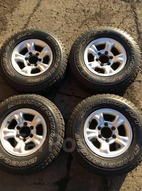 Продам комплект грязевых колёс 235/75/15. 7.0x15 6x139.70 ET25