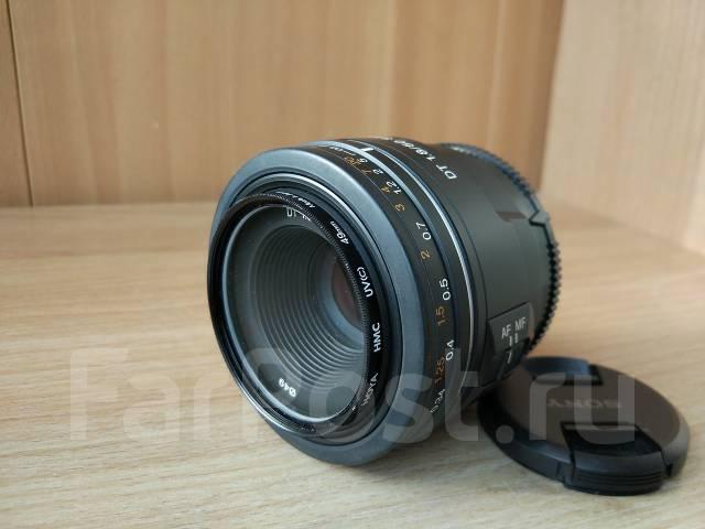 Продам объектив для зеркальной камеры Sony. Для Sony, диаметр фильтра 49 мм