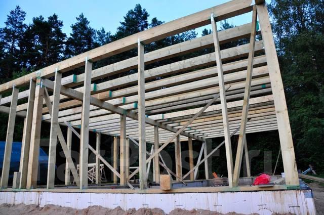 Строительство монолитного каркаса дома