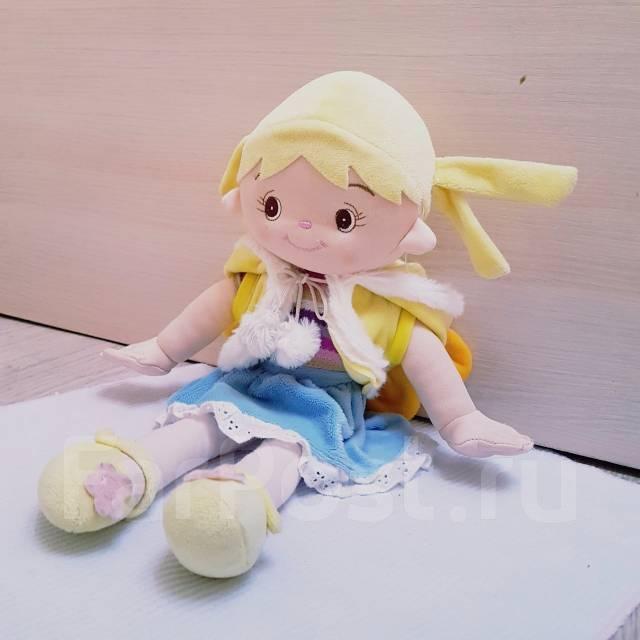 Куклы мягкие.