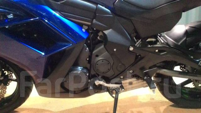 Kawasaki Ninja 650R. 650 куб. см., исправен, птс, без пробега