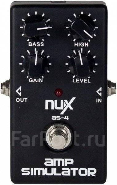 Педаль эффектов NUX AS-4 Amp Simulator