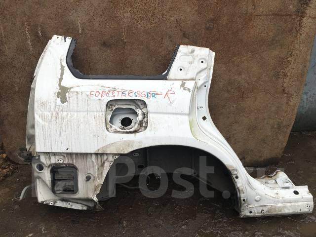 Крыло. Subaru Forester, SG5, SG9