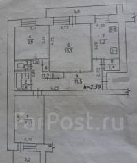 3-комнатная, проспект Первостроителей 21. агентство, 63 кв.м.