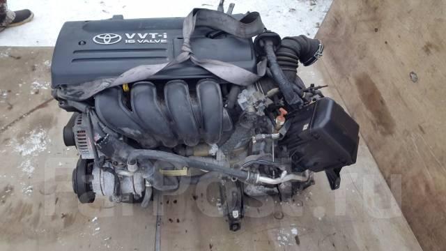 Двигатель. Toyota Caldina, ZZT241 Двигатель 1ZZFE