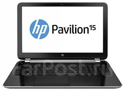 "HP Pavilion 15. 15.6"", 1,4ГГц, ОЗУ 4096 Мб, диск 500 Гб, WiFi, Bluetooth, аккумулятор на 2 ч."