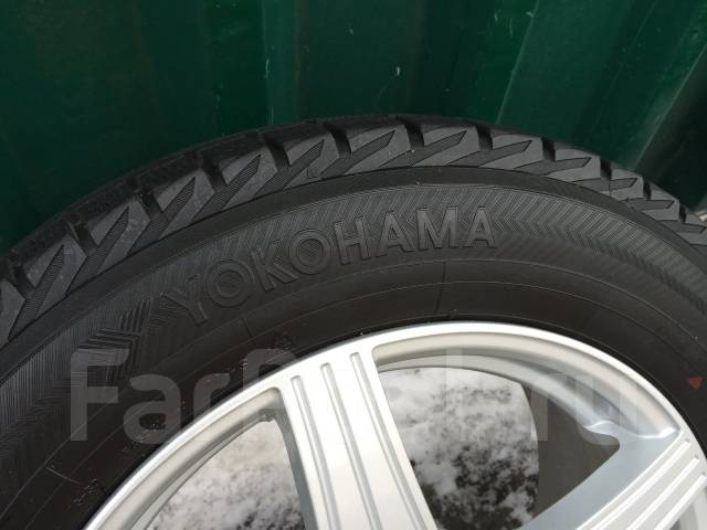 Yokohama Ice Guard IG30. Зимние, без шипов, 2008 год, износ: 20%, 4 шт