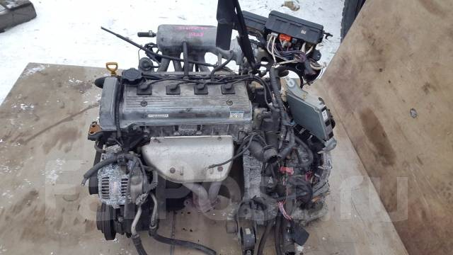 Двигатель. Toyota Corona Premio, AT211