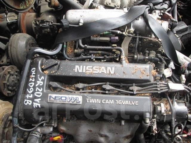 Двигатель. Nissan Primera, WHP11 Двигатель SR20VE