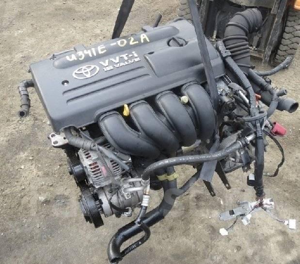 Двигатель. Toyota Premio, ZZT240 Двигатель 1ZZFE