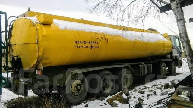 Daewoo. ДЭУ бензовоз мазутовоз термос, 15 000 куб. см., 28,00куб. м.