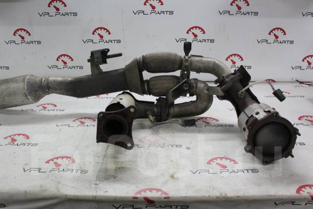 Даун-пайп с катализатором и датчиками Nissan Teana PJ31 /VPL Parts/. Nissan Teana, PJ31