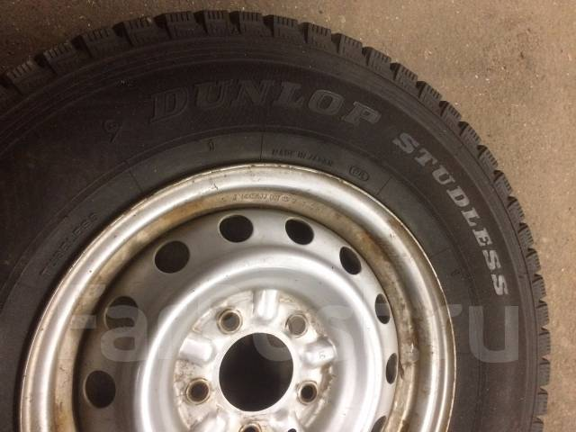 Dunlop DSV-01. Зимние, без шипов, износ: 5%, 2 шт