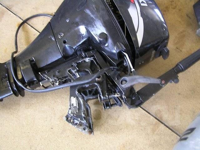 Suzuki. 9,90л.с., 4х тактный, бензин, нога S (381 мм), Год: 2003 год