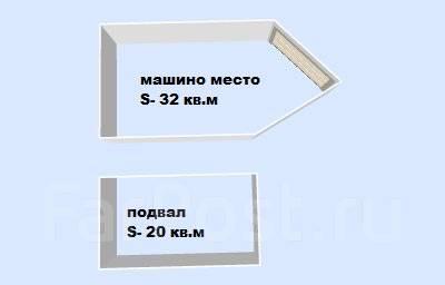 Гаражи капитальные. улица Авроровская 3а, р-н Центр, 52 кв.м., электричество, подвал.