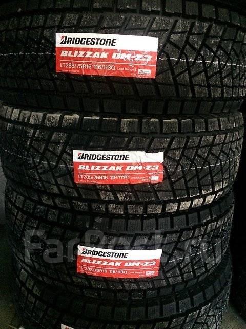 Bridgestone Blizzak DM-Z3. Зимние, без шипов, 2016 год, без износа, 4 шт