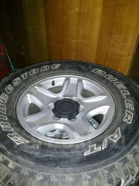 Продам колеса. 7.0x16 6x139.70 ET15 ЦО 110,0мм.