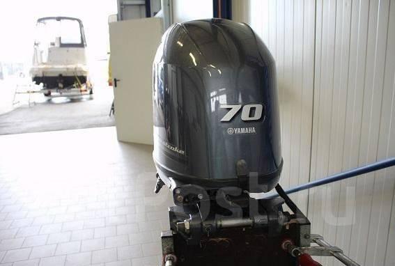 Yamaha. 70,00л.с., 4х тактный, бензин, нога L (508 мм), Год: 2016 год