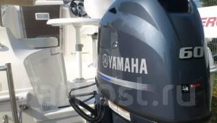 Yamaha. 60,00л.с., 4х тактный, бензин, нога L (508 мм), Год: 2016 год
