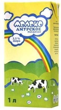 """Молоко """"Амурское Раздолье"""" 3,5%"""