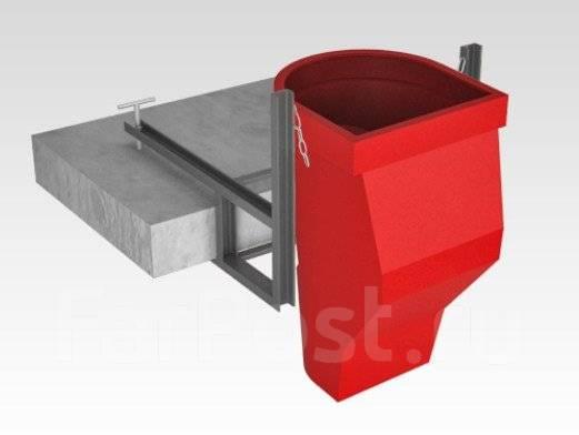 Мусоропровод строительный (мусороспуск)