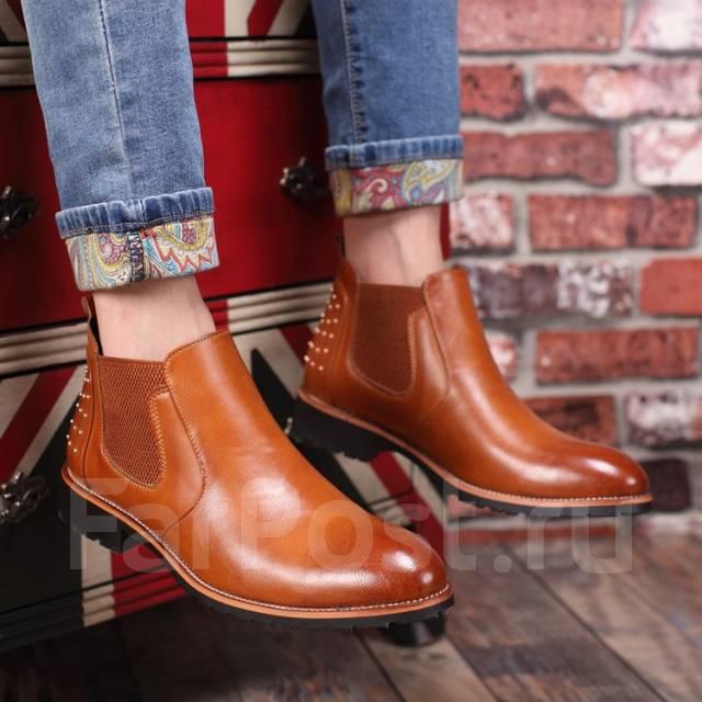 Продам мужские сапоги- ботинки. 39