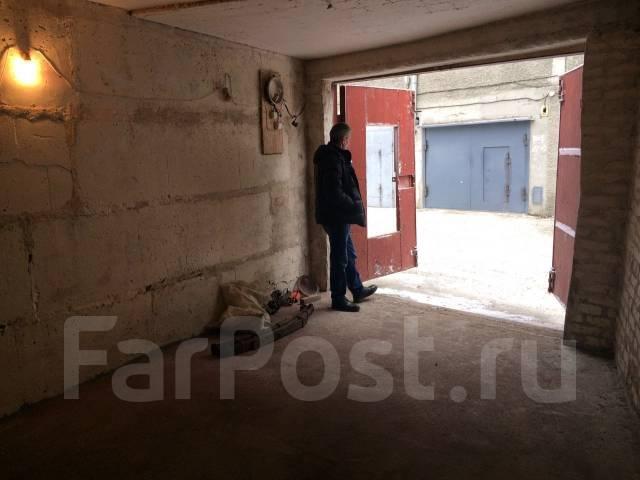 Гаражи капитальные. улица Владикавказская 1, р-н Луговая, 19 кв.м., электричество, подвал. Вид изнутри