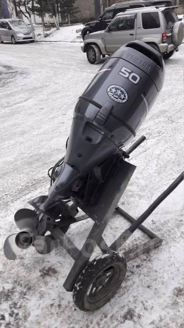Yamaha. 50,00л.с., 4х тактный, бензин, нога S (381 мм), Год: 2006 год