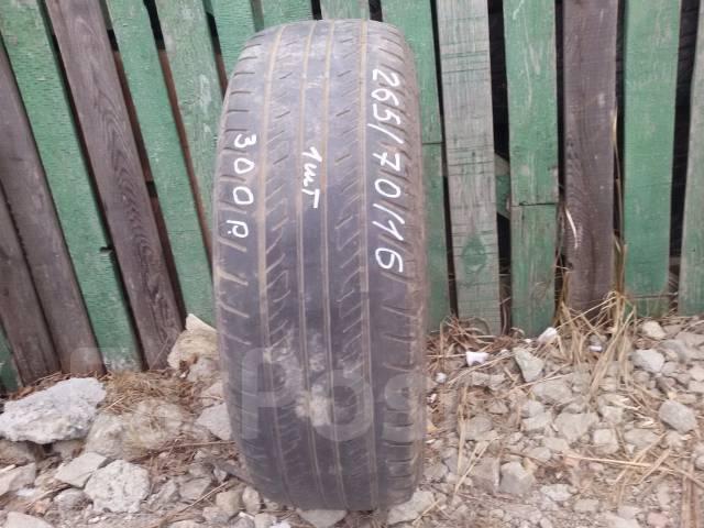 Dunlop Grandtrek PT2. Летние, 2012 год, износ: 70%, 1 шт