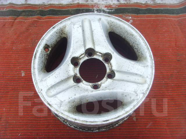 Toyota. 7.0x16, 6x139.70, ET15, ЦО 106,1мм. Под заказ