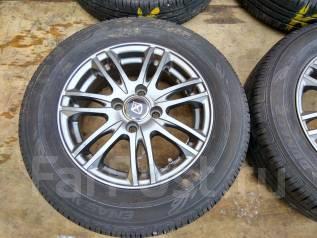Продам летние шины 175/70R14 на литых дисках. x14 4x100.00 ET45