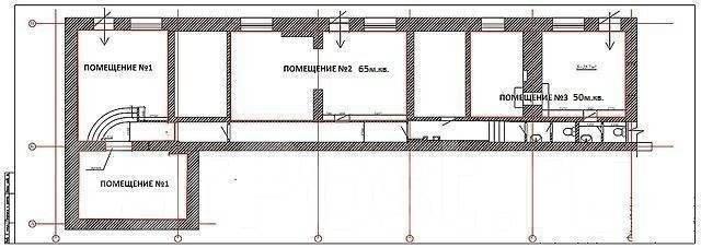 Сдается помещение в центре Владивостока. Проспект Океанский 30, р-н Центр, 75 кв.м., цена указана за квадратный метр в месяц. План помещения