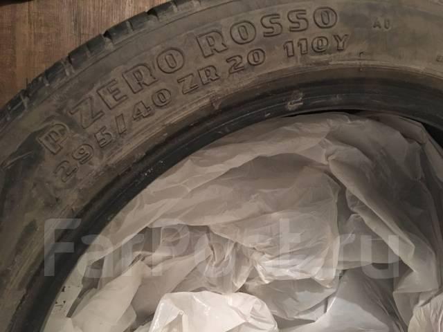 Pirelli P Zero Rosso. Летние, 2012 год, износ: 30%, 4 шт