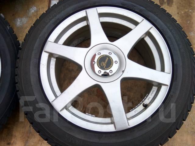 Продам зимние шины 215/55R17 на литых дисках. x17 5x100.00, 5x114.30