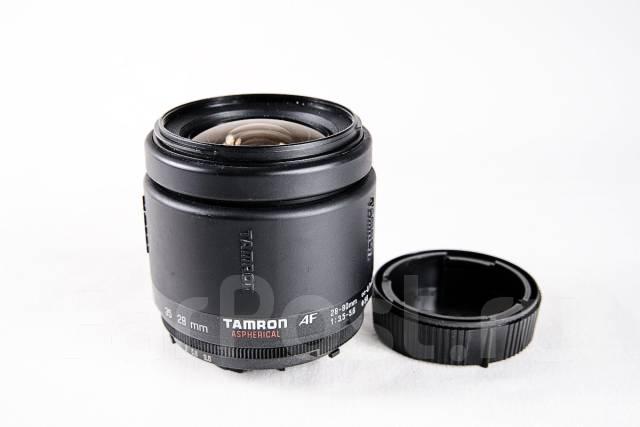 Объектив Tamron Aspherical AF 28-80 3.5-5.6. Для Nikon, диаметр фильтра 58 мм