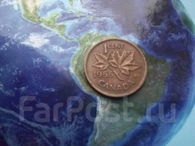 Канада. 1 цент 1955 г