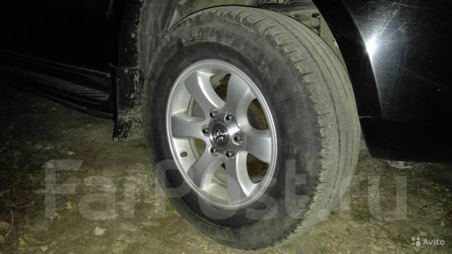 Колеса на джипы. 8.0x17 6x139.70 ET25 ЦО 106,1мм.