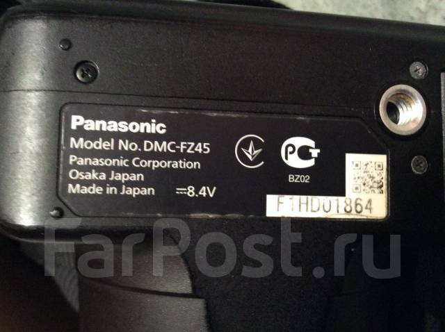 Panasonic Lumix DMC-FZ45. 10 - 14.9 Мп, зум: 14х и более