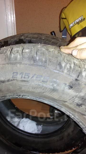 Michelin. Зимние, шипованные, без износа, 2 шт