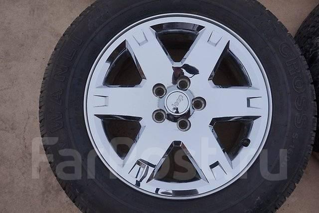 235/65R17 Летние шины с литыми дисками Jeep. Без пробега по РФ. 7.0x17 5x114.30, 5x115.00 ET37.3 ЦО 72,0мм.