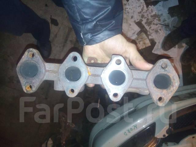 Коллектор выпускной. Mitsubishi Minica Toppo, H31A Mitsubishi Minica, H36A, H31A Mitsubishi Pajero Mini, H56A Двигатель 4A30T