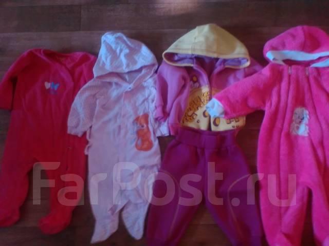 Продам теплые детские вещи. Рост: 68-74 см